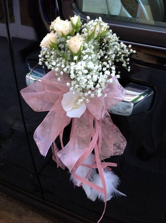 Decoración vintage paniculata y rosas de pitimini
