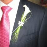 Se confecciona a juego con el bouquet de novia