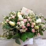 Bouquet en agua